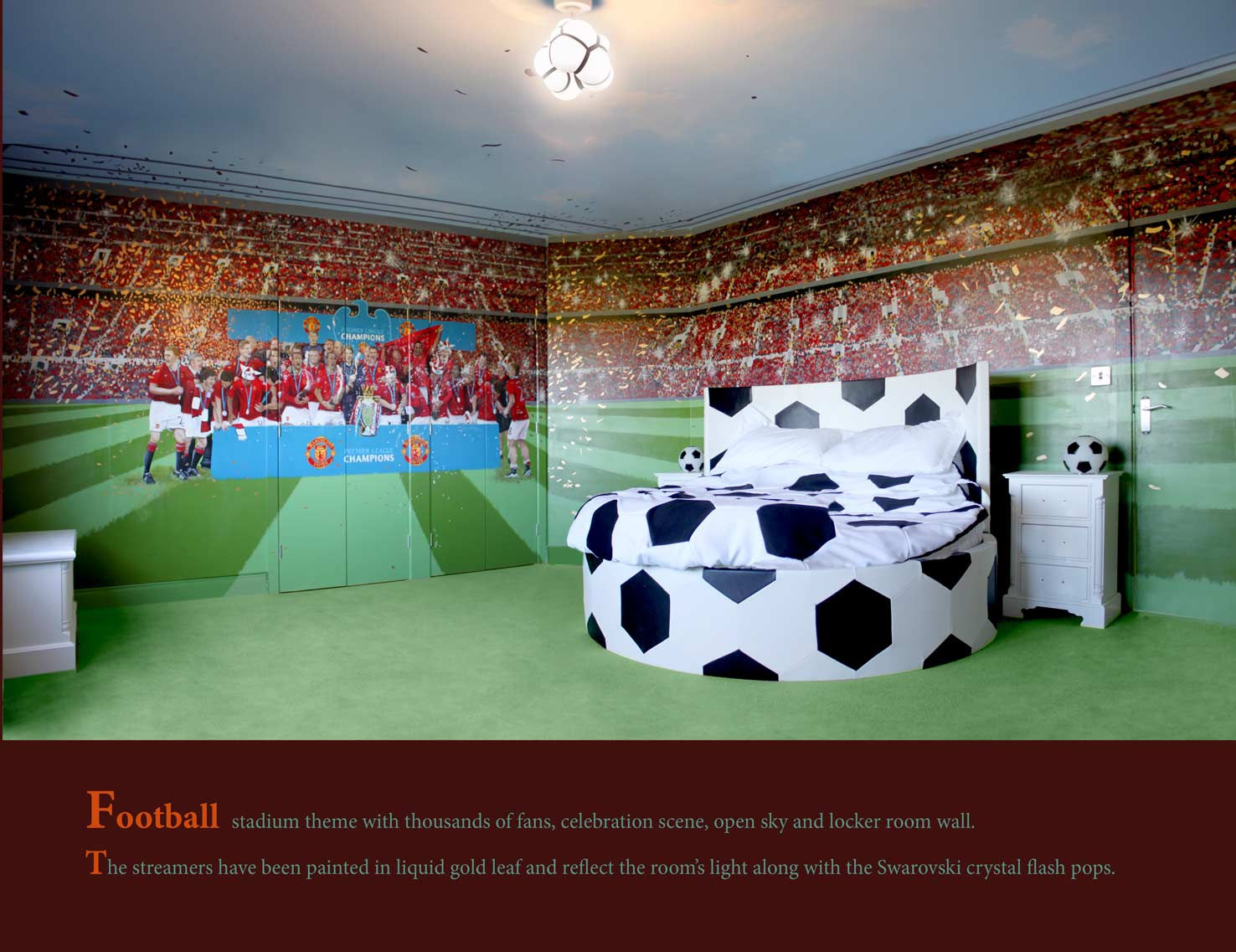 Best Football Themed Rooms Ideas On Pinterest Boys Football - Boys football bedroom ideas